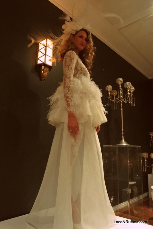 Georeg Wu wedding dress